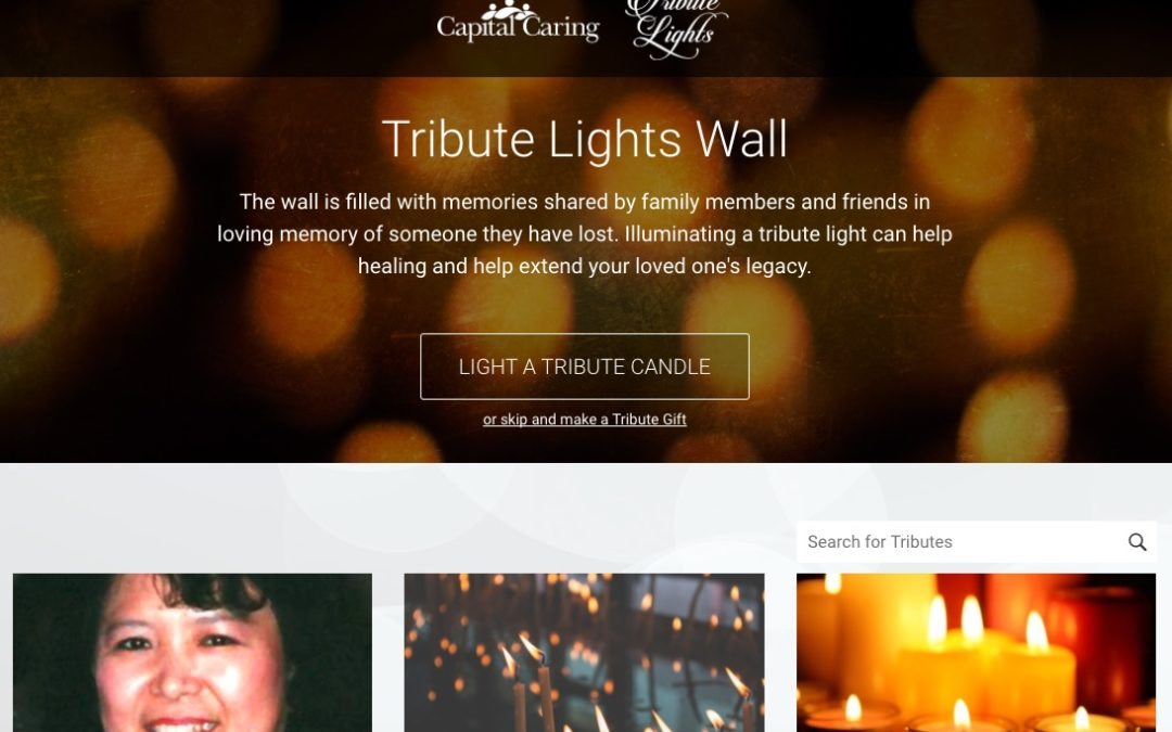 Capital Caring: Tribute Lights